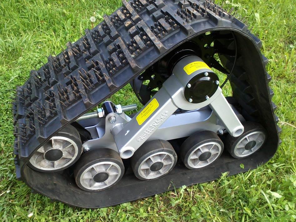 Гусеница вместо колеса